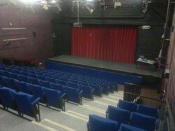 Compass Theatre auditorium, view of stage