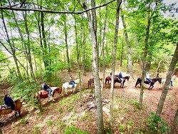 Trail rides at Kay's Acres