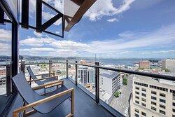 vibe hotel hobart two bedroom apartment balcony