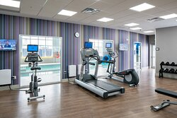 WORKOUT IN OUR 24HR FITNESS CENTER
