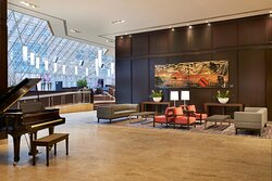 Enjoy and relax in our Toronto downtown hotel lobby