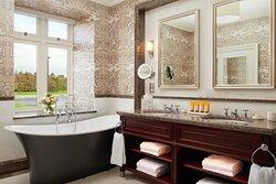 Deluxe King Bathroom At Adare Manor