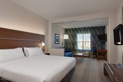 Relax in our spacious King Bed guest rooms