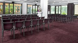 Conference room in theatre style