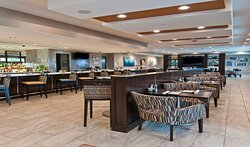 Savour the flavor at our on-site bar and restaurant
