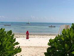 Plage de Jambiani, Zanzibar