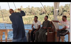 Our crew on the Nora, Nile dahabiya cruise