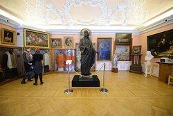 Четвертый зал Музея Московской духовной академии