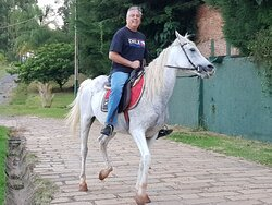 Bela cavalgada.