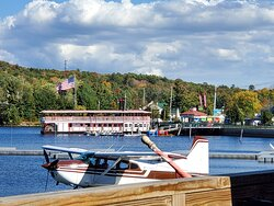 Take a ride on the Songo Queen II or a Sea Plane Ride!