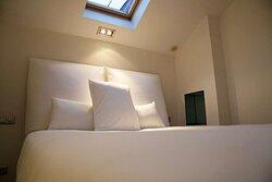Duplex Bedroom at 1K Paris