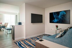King Oceanfront Suite Living Area
