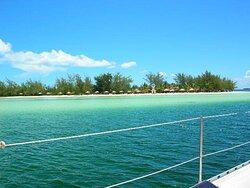Catamaran trip to Cayo Blanco