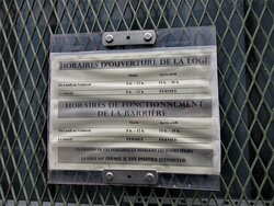 Indications horaires