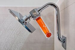 Stay Well Guest Room - Vitamin C Infused Shower Head