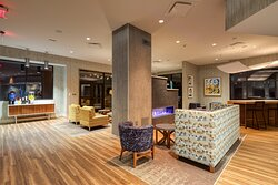 Enjoy our perching areas in the hotel lobby
