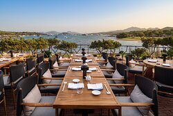 Matsuhisa at Cala di Volpe - Terrace and View over the bay