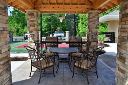 Cook dinner using one of our guest grills and dine al fresco.