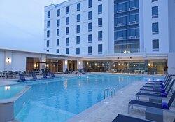 Swmming Pool at Crowne Plaza Panama Airport Hotel