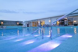 Swimming Pool at the Crowne Plaza Hotel Panama