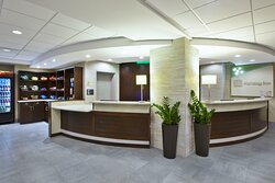 Check-in is Easy and Quick with two Stations to Assist our Guests