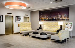 Holiday Inn Lobby Seating
