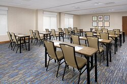 Our meeting room is great for meetings of all sizes