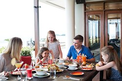 Family Dining at Amber