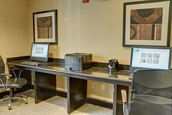 A printer and computers are available in our business center.