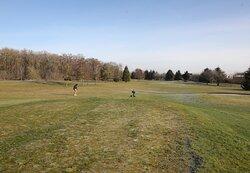 vue du terrain de golf