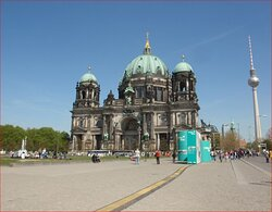 Memories … Berliner Dom. The Berlin Cathedral was built between 1894-1905 in Renaissance and Baroque Revival styles. It is the largest Protestant church in Germany and one of the most important dynastic tombs in Europe.