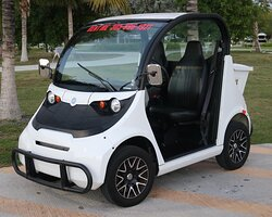 Enjoy one of our 2 Seater Electric Cars!