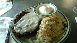Chicken fried steak at Norm's.