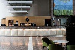 Scandic Infra City Lobby Reception