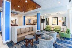 Hotel Lobby Lounge with Free WiFi