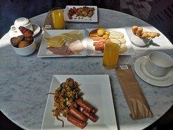 Increíble desayuno!!!