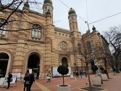 Great / Central Synagogue (Nagy Zsinagoga)  - Picture No. 13 -  By israroz - (Dec. 2019)