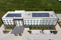 10% of our energy usage comes from our rooftop solar panels