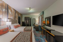 Luxurious  Room with two double beds