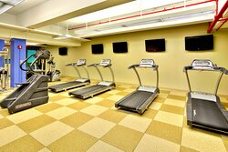 Continue your workout regimen in our fitness center