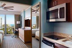 Residential Studio - Ocean View Double Bed
