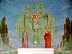 Affresco nell'abside