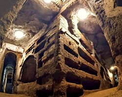 Le catacombe...