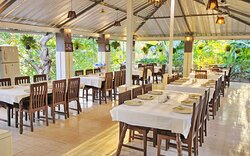 Enjoy lip smacking local delicacies at the restaurant.