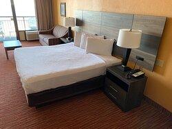Room 430 Oceanfront King Room King Bed & Sleeper Sofa