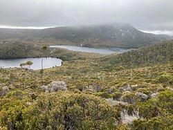Dove lake And Lake Lilla