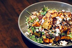 Quinoa Spinach and Root Vegetable Salad