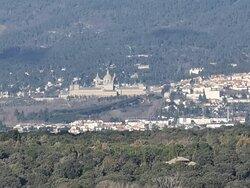 Vista del Monasterio de San Lorenzo del Escorial.
