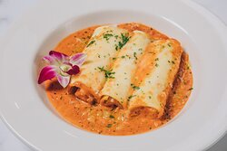 Seafood Cannelloni