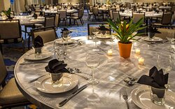 Large space for receptions, parties, anniversaries, and business